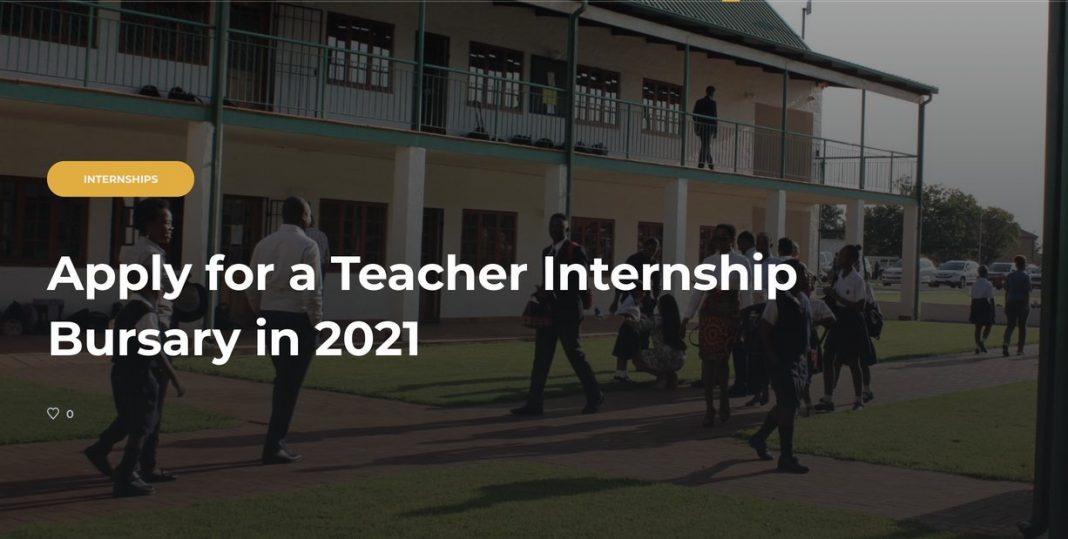 SAMSTIP Teacher Internship Bursary Program 2020/2021 for young South Africans