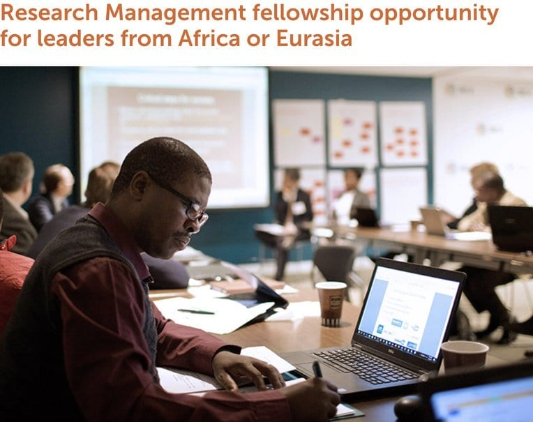 IREX University Administration Support Program (UASP) 2020 Fellowships in Research Management (Fully Funded to USA)