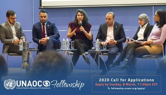 United Nations Alliance of Civilizations (UNAOC) MENA Fellowships 2020 for emerging Leaders (Fully Funded)