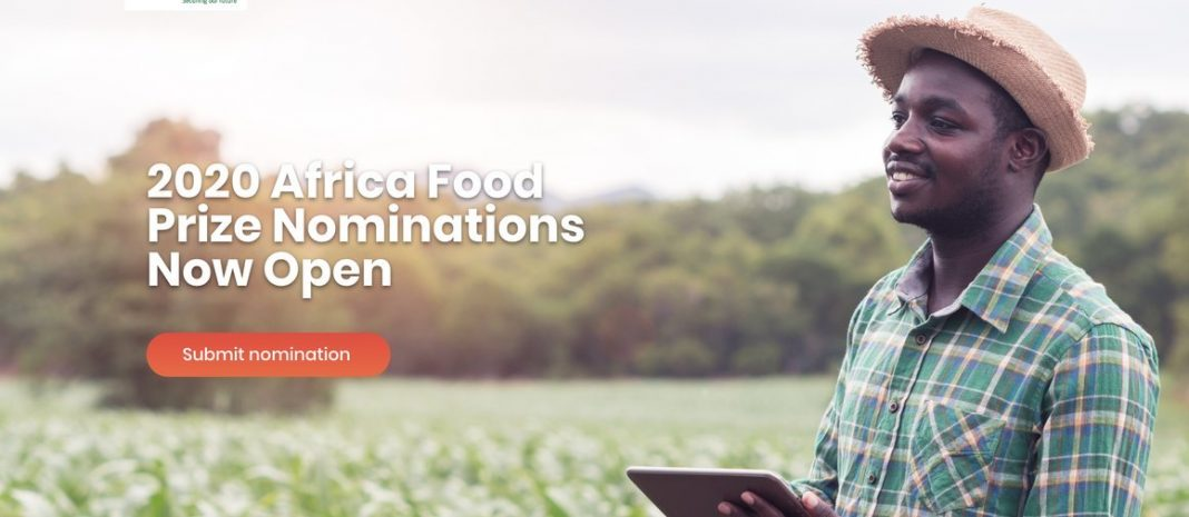 Africa Food Prize 2020 for Innovation in African Agriculture (USD $100,000 Prize)