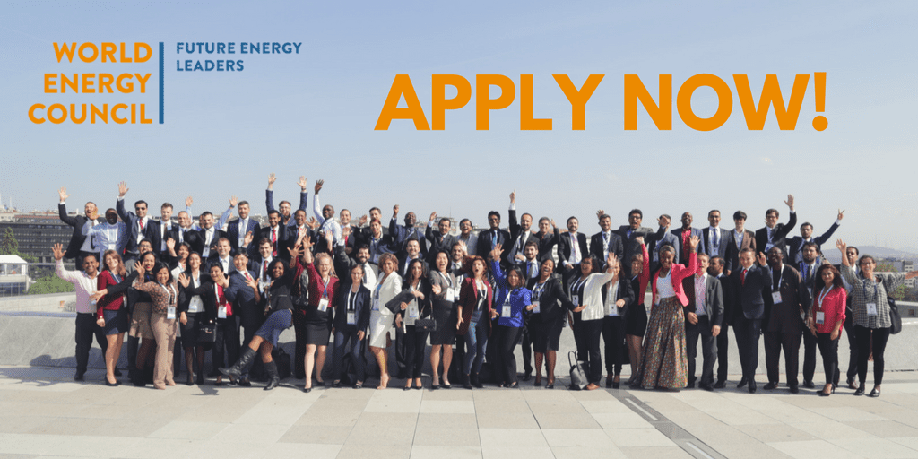 World Energy Council Future Energy Leaders' programme 2020 for young Professionals