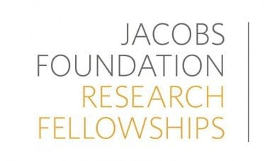 Jacobs Foundation Research Fellowship Program 2020 for Research on Child and Youth Development.