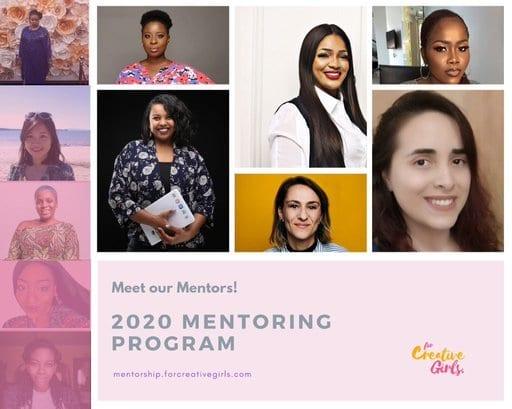 Creative Girls Mentorship Program 2020 for Young Female Creatives.