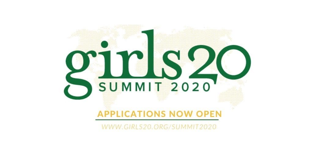 G(irls)20 Global Summit 2020 for young women Worldwide (Fully Funded to Riyadh, Saudi Arabia)
