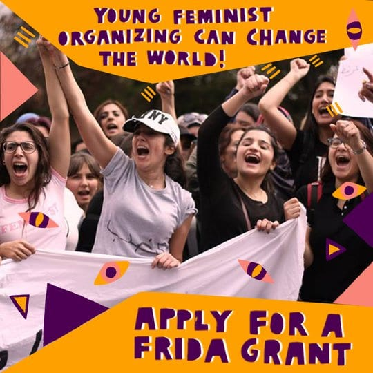FRIDA Young Feminist Fund 2020 for Young Feminist Activists ($USD 6,000 Grant).