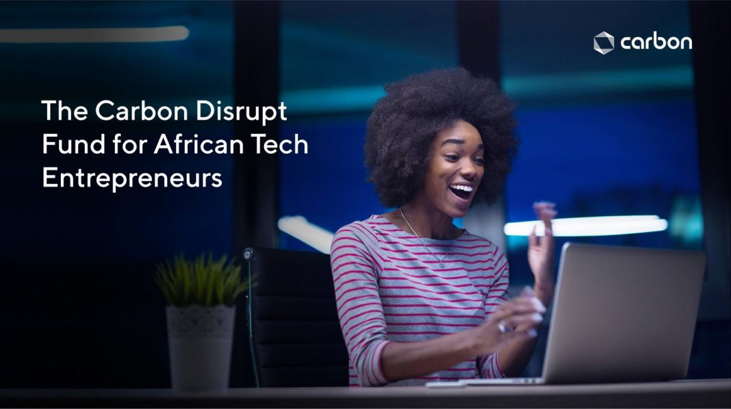 Carbon Disrupt Fund 2020 for African Tech Entrepreneurs ($100,000 Fund)