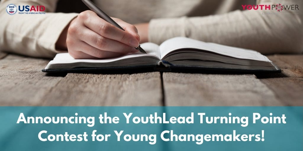 2020 Youthlead Turning Point Contest for Young Changemakers