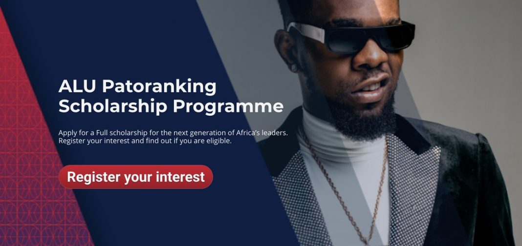 ALU Patoranking Scholarship Programme 2020 for undergraduate African students (Fully Funded to African Leadership University, Rwanda or Mauritius)