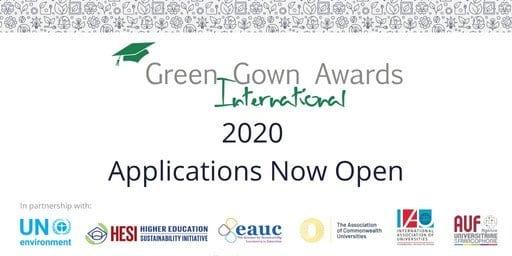 UN Environment International Green Gown Awards 2020