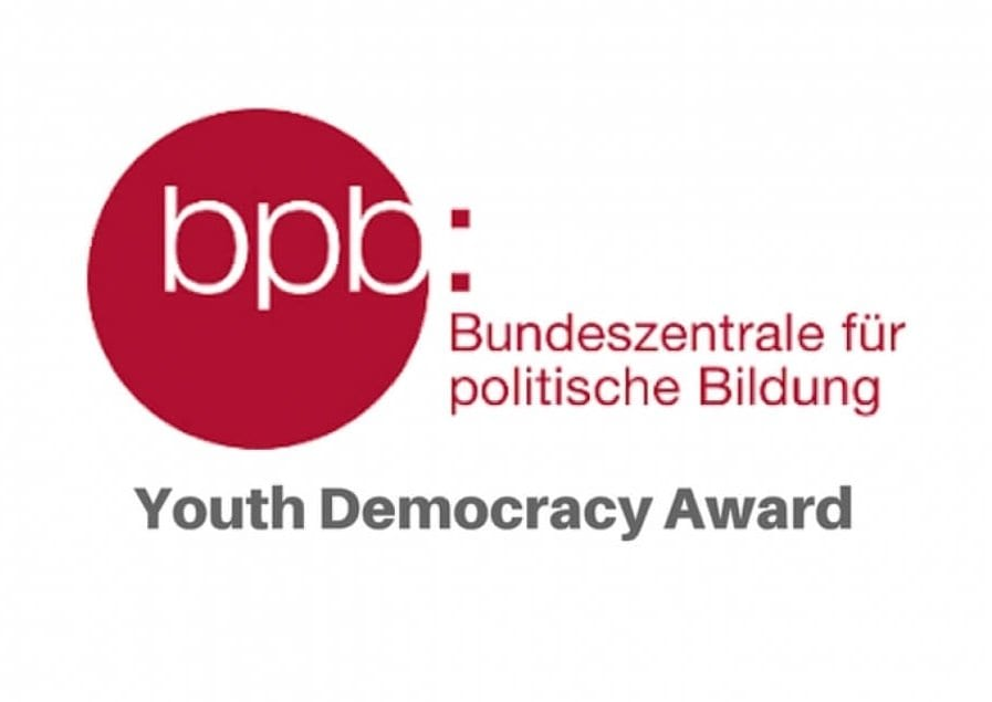 Call for Applications: Youth Democracy Award 2020 (3000 Euros Prize)