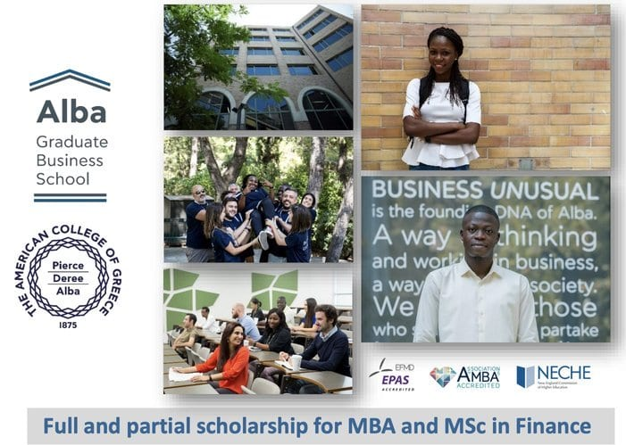 Leventis Foundation Masters & MBA Scholarships 2020/2021 for Nigerian Students to Study in Greece (Fully Funded)
