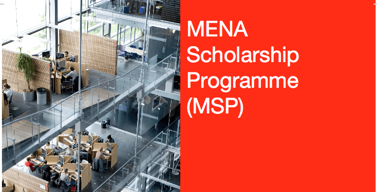 NFP/MSP (MENA) Scholarship Programme 2020/2021 for Study in the Netherlands (Fully Funded)