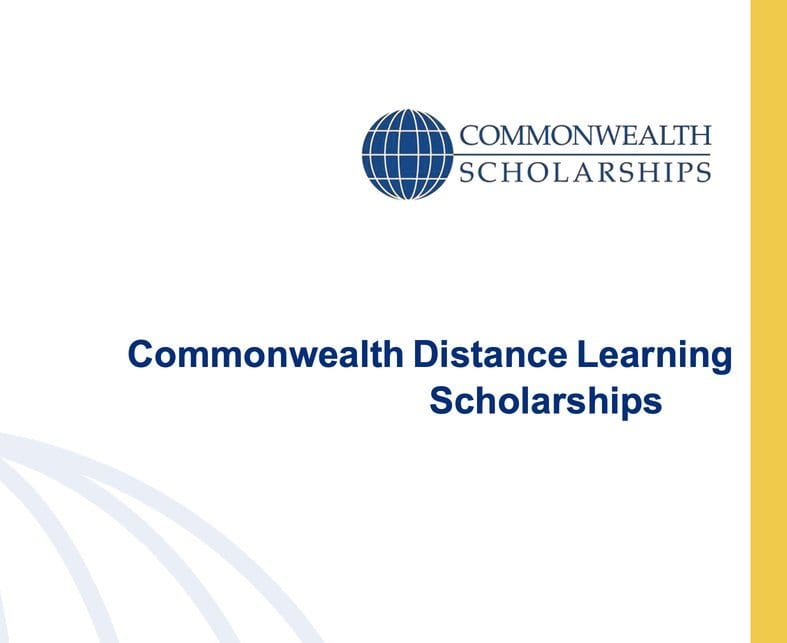 Commonwealth Distance Learning Scholarships 2020/2021 for study in the United Kingdom (Fully Funded)