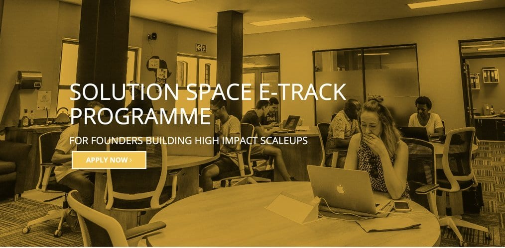 MTN Solution Space e-Track Programme 2020 for young Entrepreneurs