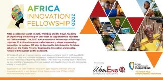 WomEng/Royal Academy of Engineering's Africa Innovation Fellowship 2020 for female African innovators (Fully Funded to Accra,Ghana)