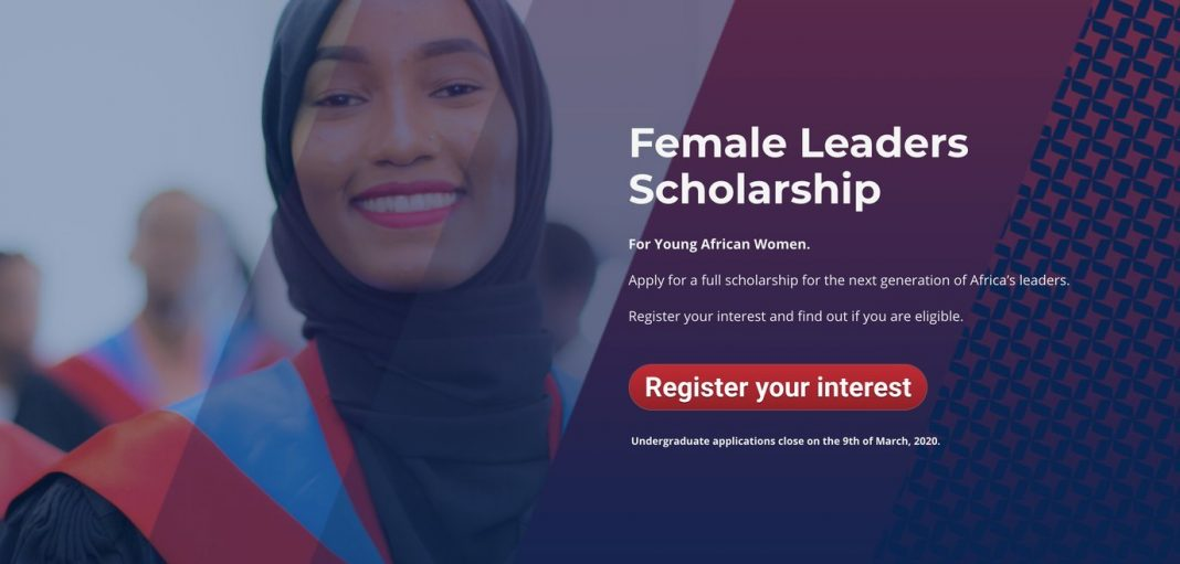 African Leadership University (ALU) Female Leaders Scholarship 2020 for young African Women (100% paid tuition and Fully Funded to Mauritius/Rwanda)