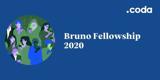Coda Story's Bruno Fellowship 2020  for mid-career journalist ($16,000 grant)