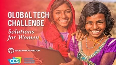 World Bank/CES 2020 Global Tech Challenge: Solutions for Women