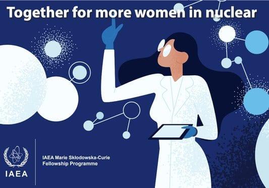IAEA Marie Skłodowska-Curie Fellowship Programme 2020 for female graduate students (10,000 euros/year for living Expense)