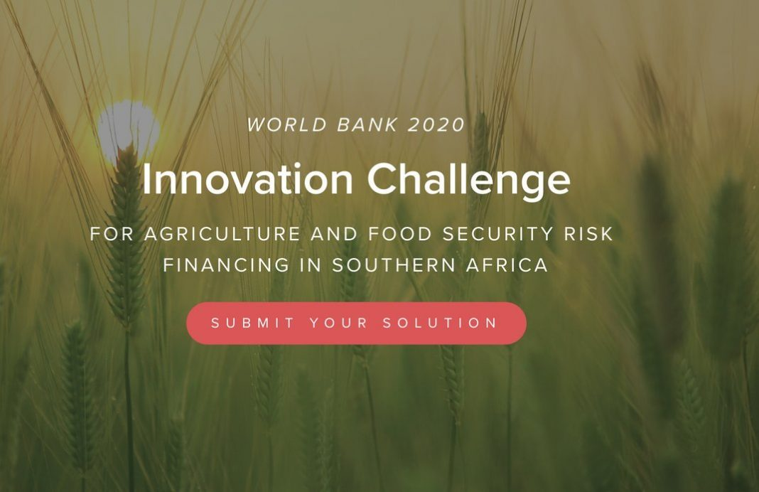 Draper University/World Bank 2020 Innovation Challenge For Agriculture and Food Security Risk Financing in Southern Africa (all expenses paid to Washington, D.C.,USA)