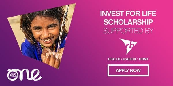 RB-Invest for Life Scholarship 2020 (Fully Funded to One Young World Summit 2020 in Munich,Germany)