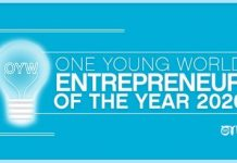 One Young World's Entrepreneur of the Year 2020 for young Entrepreneurs Worldwide (Fully Funded to Munich,Germany)