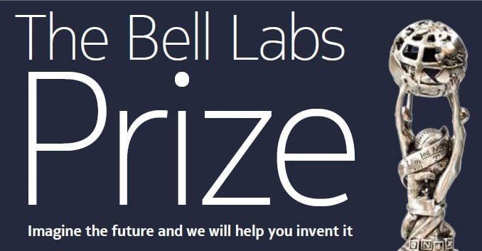 Nokia/Bell Labs Prize 2020 for Game Changing Ideas in ICT (150,000+ USD Prize)