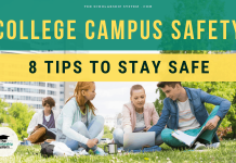 College Campus Safety – 8 Tips to Stay Safe