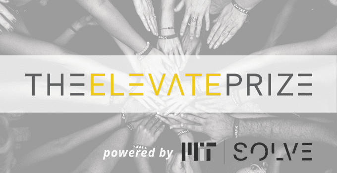 MIT Solve 2020 Elevate Prize for Global Heroes (USD $5 million Prize)