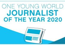 One Young World Journalist of the Year Award 2020 (Fully Funded to the OYW Summit in Munich,Germany)