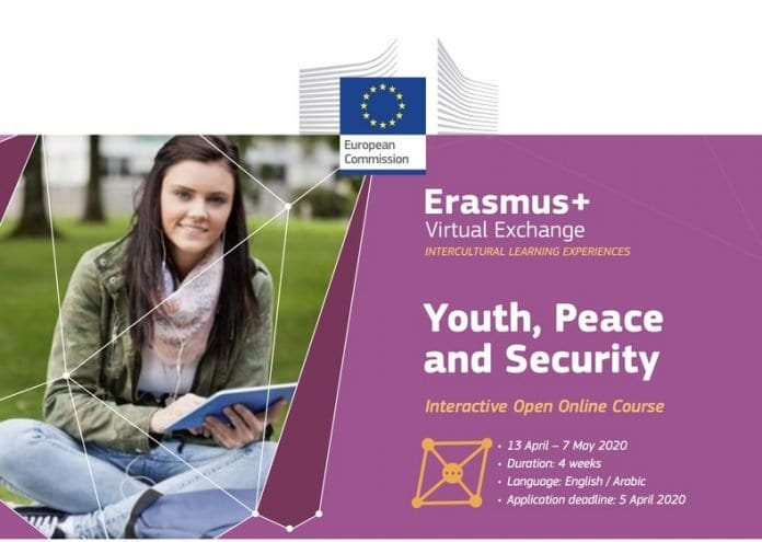 Erasmus+ Virtual Exchange – Youth, Peace and Security Interactive Open Online Course