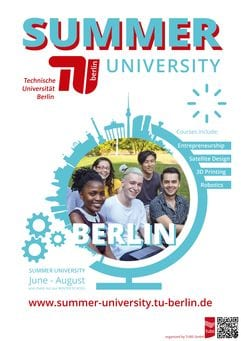 DAAD TU Berlin Summer University Scholarships 2020/2021 for students from Developing Countries