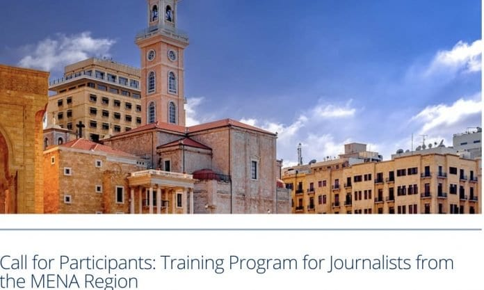 Call for Participants: Internews 2020 Training Program for Journalists from the MENA Region (Fully Funded to Beirut,Lebanon)