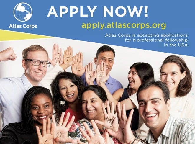 Atlas Corps Fellowship 2020/2021 for Social Change Leaders. (Fully Funded to the United States of America)