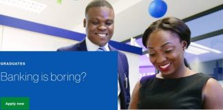 Standard Chartered Bank 2020/2021 Internship International Graduate Programme for young Africans