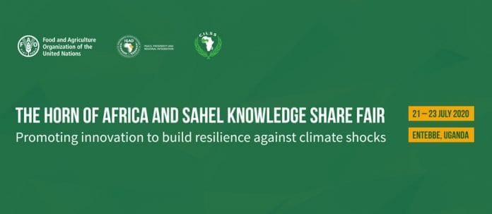 The Horn of Africa and Sahel Knowledge Share Fair: Promoting innovation to build resilience against climate shocks