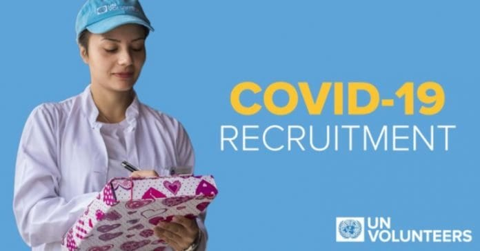 United Nations (UN) Volunteers for Novel Coronavirus (COVID-19) Pandemic Response