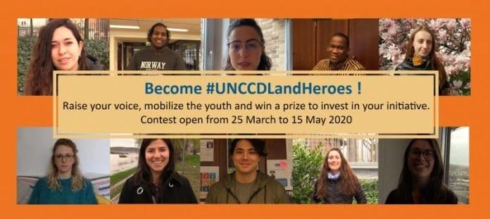UNCCD Land Heroes Challenge 2020 (USD500 cash prize)