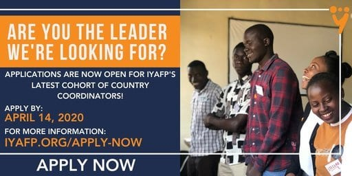 Apply: International Youth Alliance for Family Planning (IYAFP) Country Coordinator Program 2020/2022