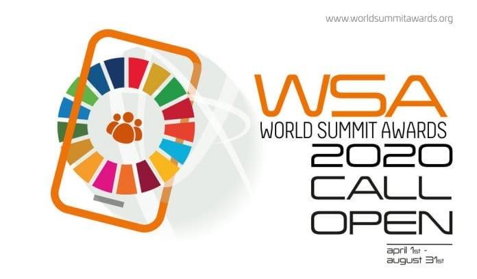 World Summit Award (WSA) 2020 for Young Digital Entrepreneurs.