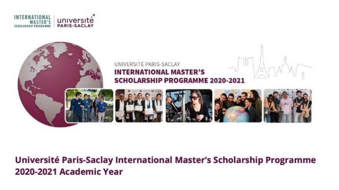 2020/2021 Université Paris-Saclay Master's Scholarships for international study in France.