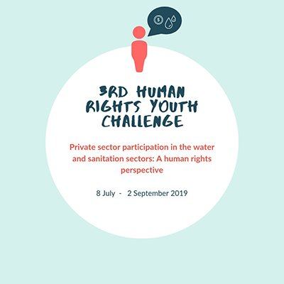 Special Rapporteur call for 3rd Human Rights Youth Challenge