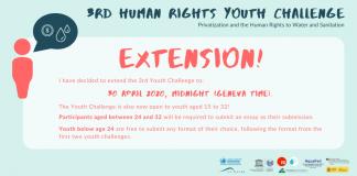 UN OHCHR Third Human Rights Youth Challenge 2020