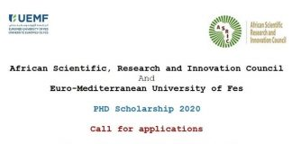 Call for Applications: ASRIC/UEMF PhD Scholarship Scheme 2020-2021 (Fully-funded)
