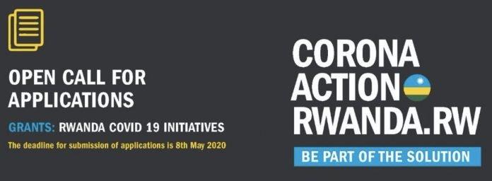 Corona Action Rwanda Grant COVID 19 Initiatives
