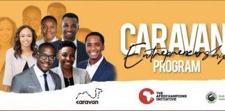 The Caravan Entrepreneurship Program 2020 for young Ghanaian Entrepreneurs