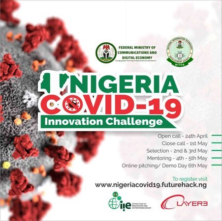 NITDA/OIIE Nigeria COVID-19 Innovation Challenge 2020 (2 Million+ Prize)