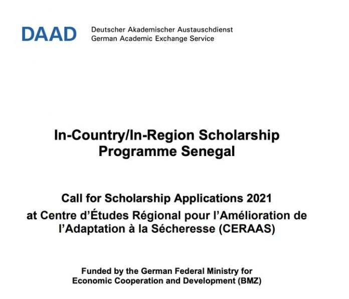 DAAD/CERAAS Masters and PhD Scholarships 2020 for Sub-Saharan African Students (Funded)