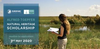 Alfred Toepfer Natural Heritage Scholarships 2020 for Young conservationists (Up to €3,000)