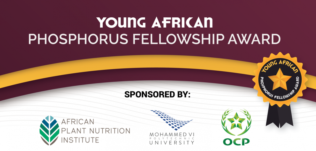 African Plant Nutrition Institute (APNI) Young African Phosphorus Fellowship Award 2020 (Up to $5,000)